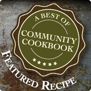 featured recipe button