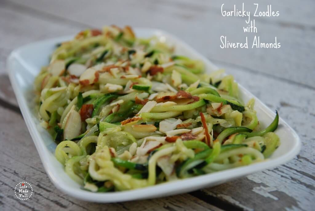 garlicky zoodles