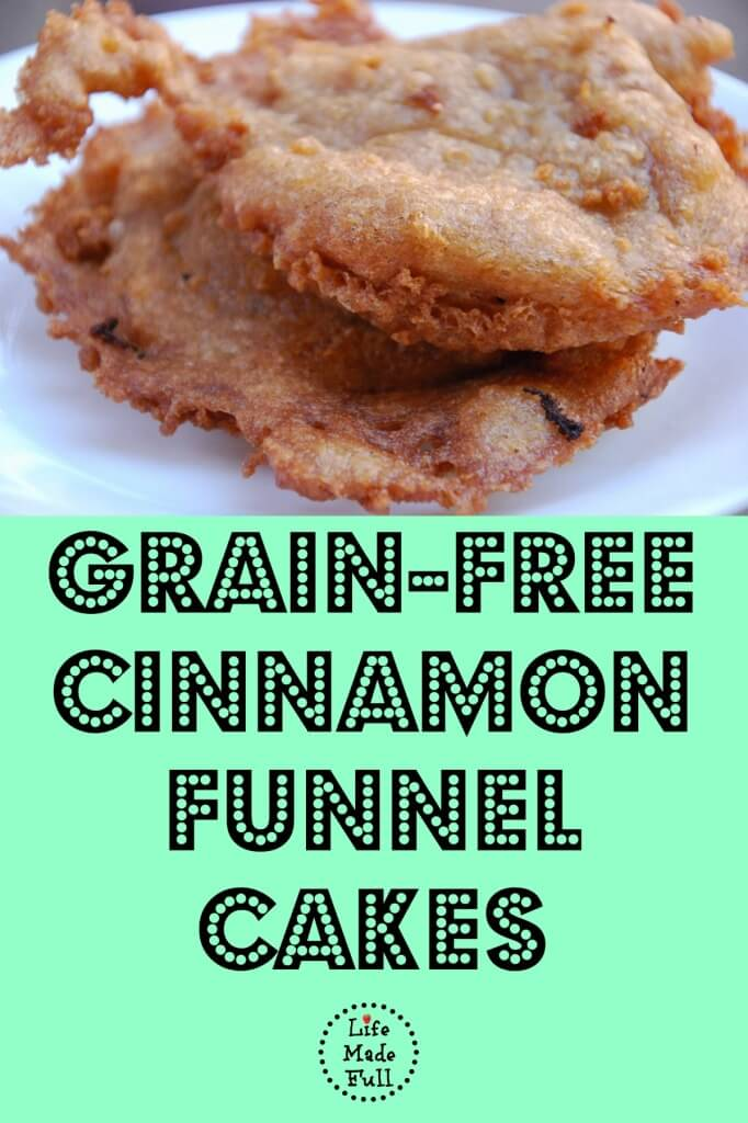This Paleo funnel cake is AMAZING! Seriously better than the junk at the fair!