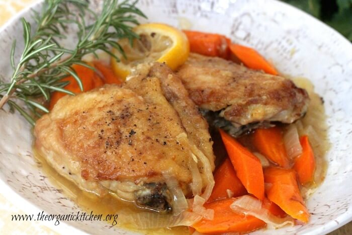 Quick and Easy Slow Cooker Lemon Chicken
