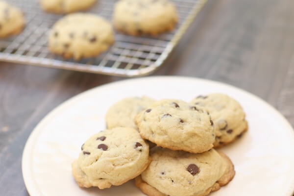 Gluten Free Mint Chocolate Chip Cookies! These are UH-mazing!!!
